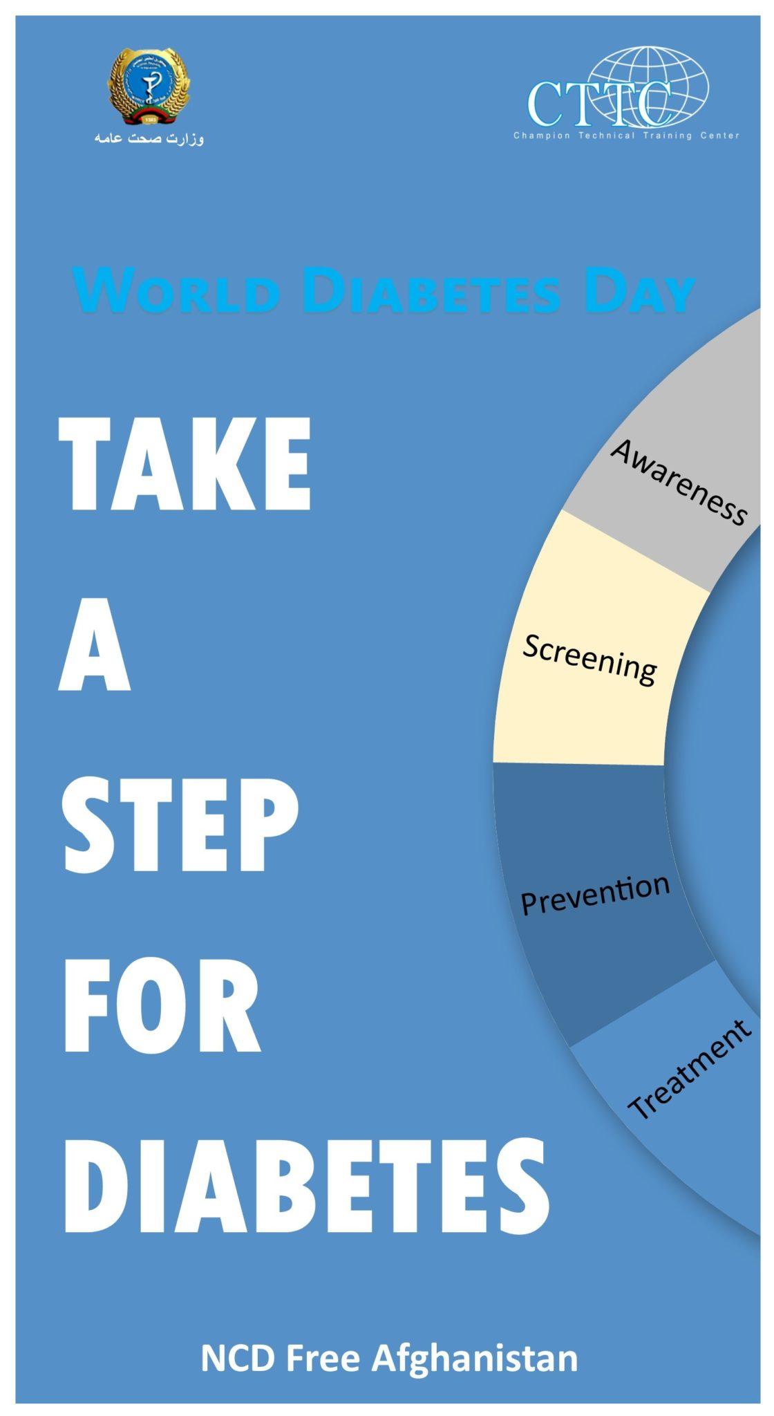 Take A step for Diabete