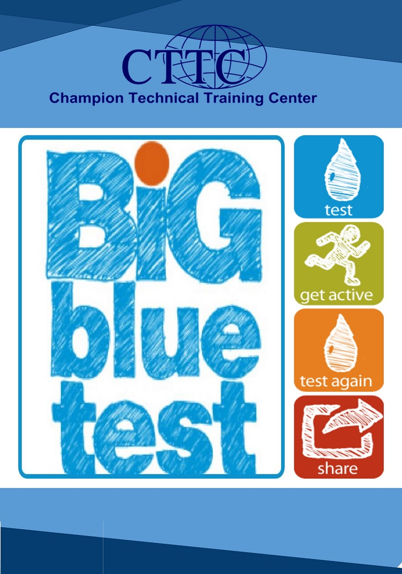 Big Blue Test