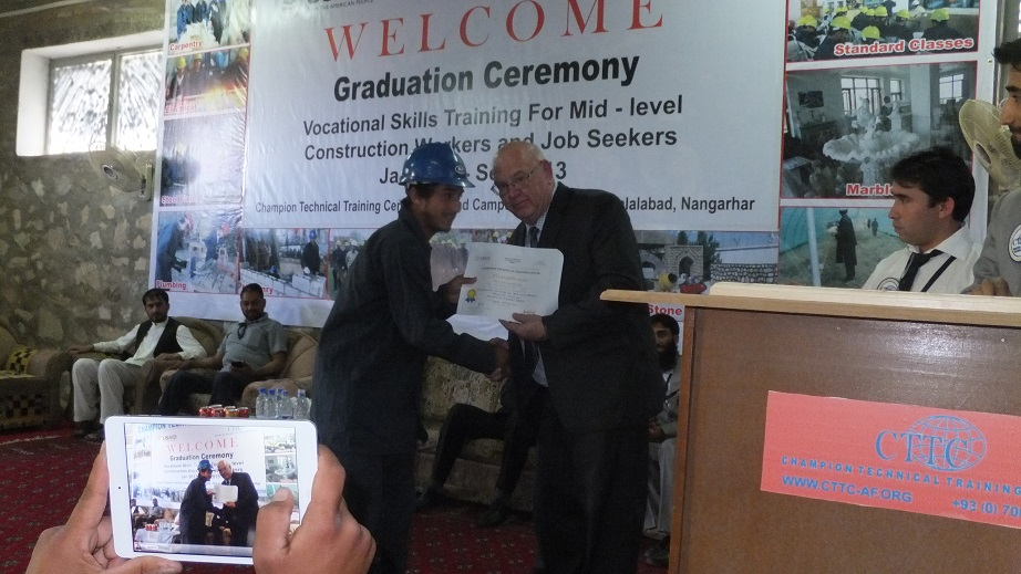 AWDP/CTTC Jalalabad Vocational Training Programs